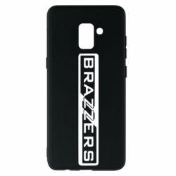 Чехол для Samsung A8+ 2018 Brazzers Logo