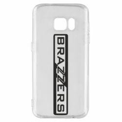 Чехол для Samsung S7 Brazzers Logo