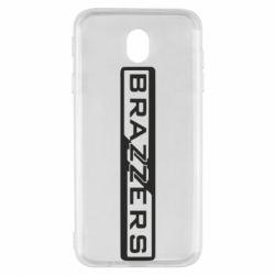 Чехол для Samsung J7 2017 Brazzers Logo