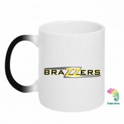 Кружка-хамелеон Brazzers new
