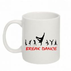 Кружка 320ml Break Dance