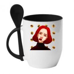Кружка з керамічною ложкою Breakfast