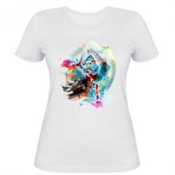 Женская футболка Брэйк Арт