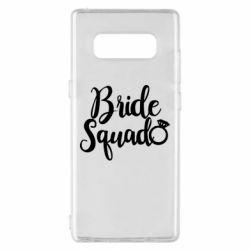 Чохол для Samsung Note 8 Bride Squad