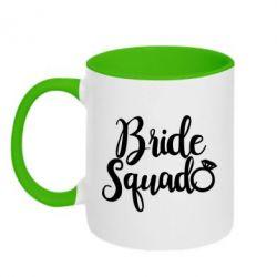 Кружка двоколірна 320ml Bride Squad