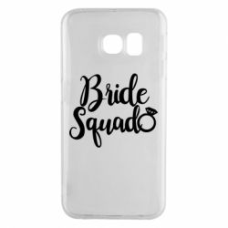 Чохол для Samsung S6 EDGE Bride Squad