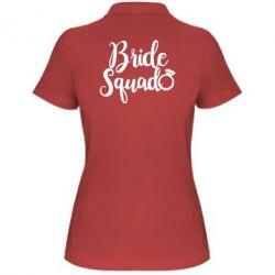 Жіноча футболка поло Bride Squad