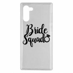 Чохол для Samsung Note 10 Bride Squad