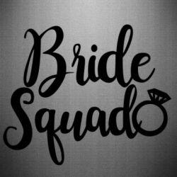 Наклейка Bride Squad