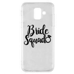 Чохол для Samsung A6 2018 Bride Squad