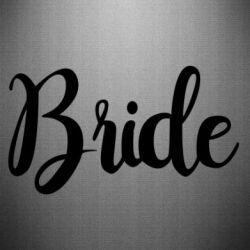Наклейка Bride