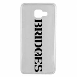 Чехол для Samsung A7 2016 Bridges
