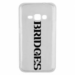 Чехол для Samsung J1 2016 Bridges