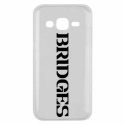 Чехол для Samsung J2 2015 Bridges