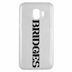 Чехол для Samsung J2 2018 Bridges