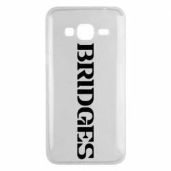 Чехол для Samsung J3 2016 Bridges