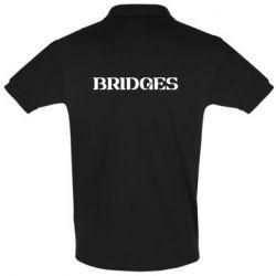 Мужская футболка поло Bridges