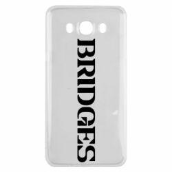 Чехол для Samsung J7 2016 Bridges
