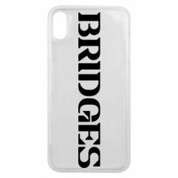 Чехол для iPhone Xs Max Bridges