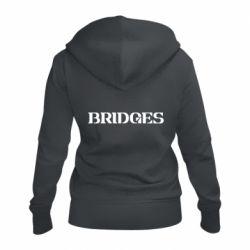 Женская толстовка на молнии Bridges