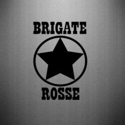 Наклейка Brigate Rose - FatLine