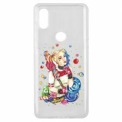 Чехол для Xiaomi Mi Mix 3 Bright Harley Quinn Vector