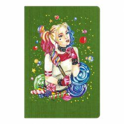 Блокнот А5 Bright Harley Quinn Vector