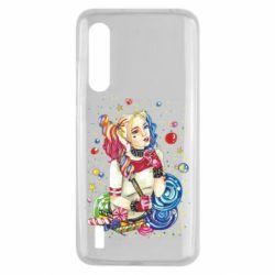 Чехол для Xiaomi Mi9 Lite Bright Harley Quinn Vector