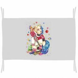 Флаг Bright Harley Quinn Vector