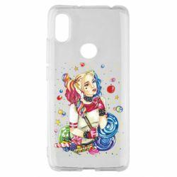 Чехол для Xiaomi Redmi S2 Bright Harley Quinn Vector