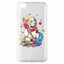 Чехол для Xiaomi Redmi Go Bright Harley Quinn Vector