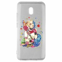 Чехол для Xiaomi Redmi 8A Bright Harley Quinn Vector