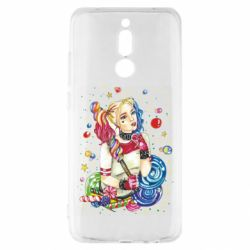 Чехол для Xiaomi Redmi 8 Bright Harley Quinn Vector
