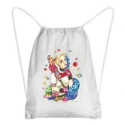 Рюкзак-мешок Bright Harley Quinn Vector