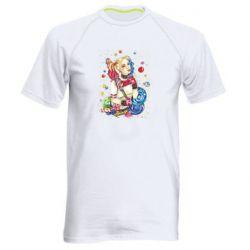Мужская спортивная футболка Bright Harley Quinn Vector