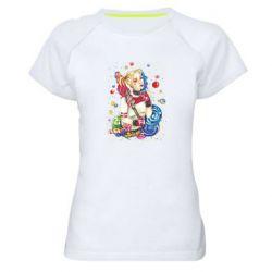 Женская спортивная футболка Bright Harley Quinn Vector