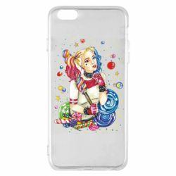 Чехол для iPhone 6 Plus/6S Plus Bright Harley Quinn Vector