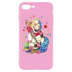 Чехол для iPhone 7 Plus Bright Harley Quinn Vector