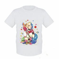 Детская футболка Bright Harley Quinn Vector