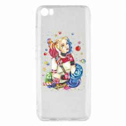 Чехол для Xiaomi Mi5/Mi5 Pro Bright Harley Quinn Vector