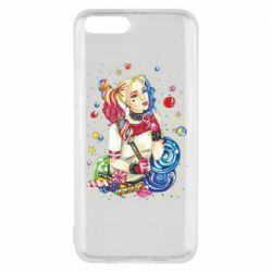 Чехол для Xiaomi Mi6 Bright Harley Quinn Vector