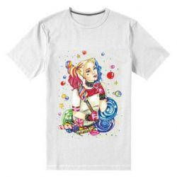 Мужская стрейчевая футболка Bright Harley Quinn Vector