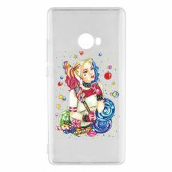 Чехол для Xiaomi Mi Note 2 Bright Harley Quinn Vector