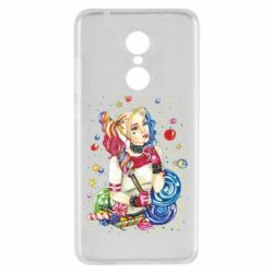 Чехол для Xiaomi Redmi 5 Bright Harley Quinn Vector