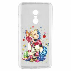 Чехол для Xiaomi Redmi Note 4 Bright Harley Quinn Vector