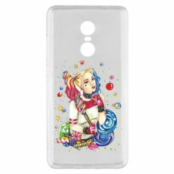 Чехол для Xiaomi Redmi Note 4x Bright Harley Quinn Vector