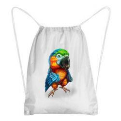Рюкзак-мішок Bright parrot art