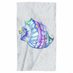 Рушник Bright watercolor shell