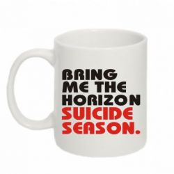 Купить Кружка 320ml Bring me the horizon suicide season., FatLine