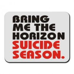 Коврик для мыши Bring me the horizon suicide season.